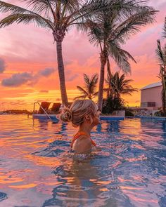 Pool Tumblr, Pool Picture, Beauty Photos, Cancun, Sunset, Instagram, Beach, Creative, Pictures