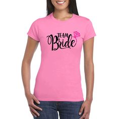 Hen Party Women T-Shirt Personalised Graphic Custom Fancy Dress Bride 43 Top Personalized T Shirts, Custom Shirts, Crazy Dog Lady, Team Bride, Birthday Gifts For Women, Size 14 Dresses, Types Of Sleeves, Fancy Dress, T Shirts For Women