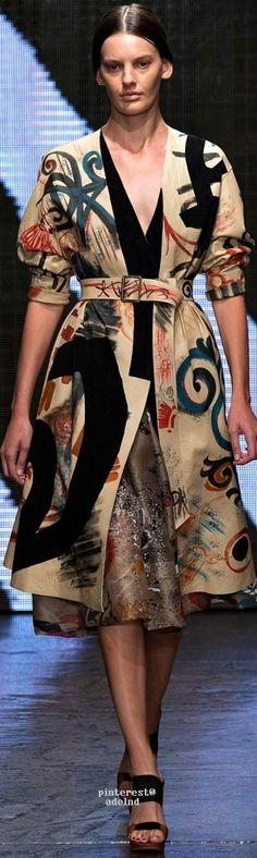Donna Karan Spring Summer 2015 Ready-To-Wear Mixing Prints, Donna Karan, Spring Summer 2015, Fashion Prints, What To Wear, Ready To Wear, Fashion Show, Karen, Style Inspiration