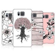 HEAD CASE DESIGNS CHERRY BLOSSOMS CASE COVER FOR SAMSUNG GALAXY ALPHA G850 #HeadCaseDesigns