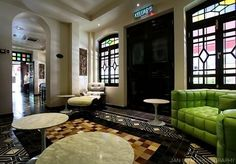 Hotel Penaga, UNESCO heritage Georgetown, Penang, Malaysia: an escape to this amazing foodie´s heaven in a lush restored shophouse converted into a boutique hotel. Loved the interior design.