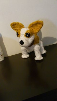 Chihuahua free pattern in spanish. Diy Crochet Amigurumi, Amigurumi Doll, Amigurumi Patterns, Crochet Dolls, Crochet Baby, Free Crochet, Crochet Patterns, Crochet Cross, Crochet Animals