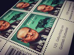 125. Geburtstag von Gottlieb Duttweiler. 1888 - 1962. Gründer der MIGROS. www.migros.ch Event Ticket, Books, Birthday, Livros, Book, Libri