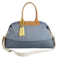 7eb5c20ec30c 2760 44.99 (Free Ship) Target Women s Jacquard Weekender Duffle Handbag -  Merona™ Target
