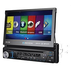 "Soundstream VRN-725B 7"" DVD Navigation Receiver with Bluetooth * Find out more about the great product at the image link."