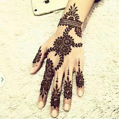 Henna design, Arabic.                                                                                                                                                      More