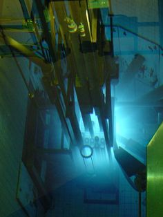 The Glow of a Nuclear Reactor