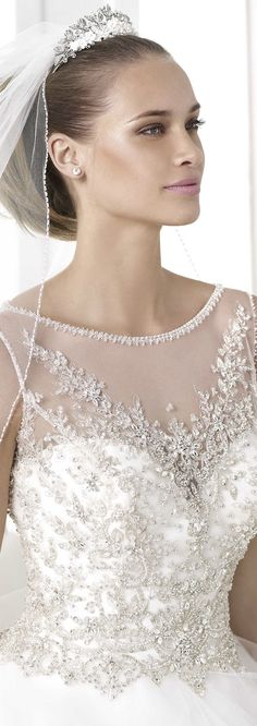 PRONOVIAS 2015 Glamour Bridal Collection Glamour 2015 BOHEMIO Style