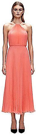 Jill Jill Stuart Midi Pleated Halter Dress on shopstyle.com