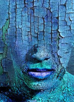 Antonio Mora, photo titled 'Texturized Man'