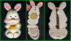 I had this exact one.  Avon solid perfume Easter pins