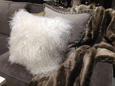 West Elm Fluffy Pillow