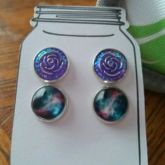 Cute handmade earring set FLASH SALE Brand new never used ear rings Jewelry Earrings
