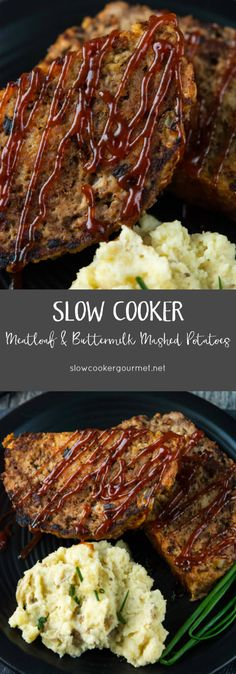 Meatloaf and Buttermilk Mashed Potatoes | Let's bring meatloaf ...