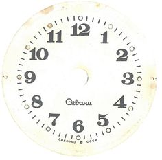 Printable antique clock faces @ Knick of Time