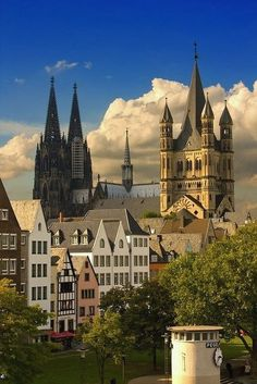 In Cologne, Germany.