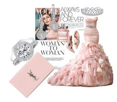 """""""Hijab or not to all women"""" by surat-iraqea ❤ liked on Polyvore featuring Maggie Sottero, Bling Jewelry, EWA, Christian Dior and Yves Saint Laurent"""