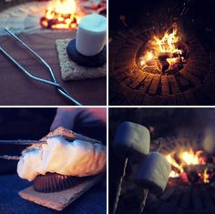 #marshmellows #fires #firepits #yum