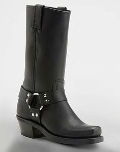 Frye Harness Studded Leather Riding Boots