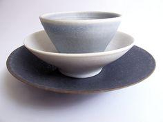 Stack of porcelain bowls | karin eriksson