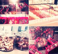 Delicious chocolates and macaroons by #DanielMercier – à Lyric Hotel Paris. #chocolates #lyrichotel #paris #macaroons #hotel
