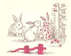 'Velveteen Rabbit' Illustrations, c1960   Maurice Sendak