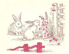 'Velveteen Rabbit' Illustrations, c1960   Maurice Sendak