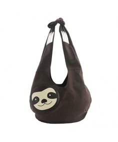 online shopping for Sleepyville Critters Hang Loose Sloth Shape Canvas Vegan Hobo Shoulder Bag Purse from top store. See new offer for Sleepyville Critters Hang Loose Sloth Shape Canvas Vegan Hobo Shoulder Bag Purse Baby Sloth, Cute Sloth, Baby Otters, Stoff Design, Hobo Handbags, Hobo Bags, Women's Bags, Fashion Handbags, Canvas Handbags
