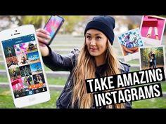 LIFE HACKS: How to Take Better Instagram/Tumblr Photos! | LaurDIY - YouTube