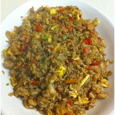 Shrimp Fried Brown Rice