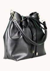2015 Fashion Handbags Calf Leather Bucket Bag Black