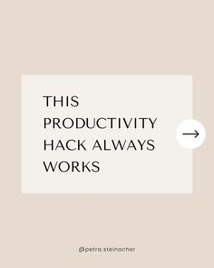 ⚡ Do you have fun in your business? Productivity is a very personal thing. Everyone is motivated and driven by different things. But there's one thing that makes everyone more productive → when they enjoy what they're doing. When they have fun. Productivity Hacks, Success Mindset, Online Entrepreneur, Personal Development, It Works, Motivation, Business, Fun, Career