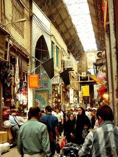 Tehran Bazar by ayat83, via Flickr