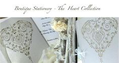 Boutique Stationery - The Heart Collection