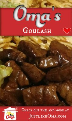 Wondering how to make goulash that tastes like traditional German goulash? Here's my easy way to make this favorite. I'm sure it'll become yours as well. So LECKER! recipes recipes chicken recipes chicken recipes Source by Entree Recipes, Meat Recipes, Gourmet Recipes, Cooking Recipes, Dinner Recipes, Rice Recipes, Cooking Ideas, Fall Recipes, Chicken Recipes