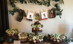 Camouflage Themed Baby Shower Decoration Ideas