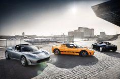 Tesla Roadster - New Roadster Colors for 2012