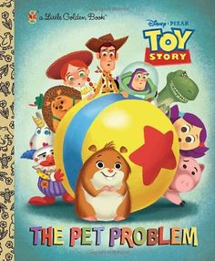 The Pet Problem DisneyPixar Toy Story Little Golden Book * You can get additional details at the image link.
