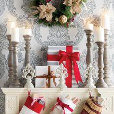 One Allium Way® La Sarre 3 Piece Wood Candlestick Set