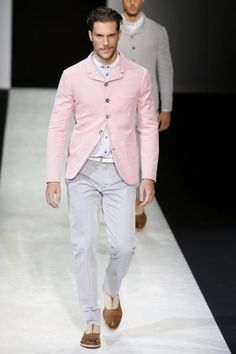 Giorgio Armani Menswear Spring Summer 2014 Milan