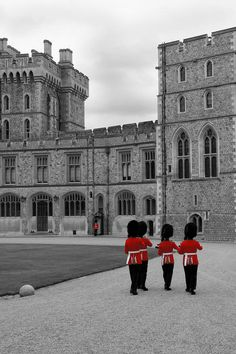Changing of the Guard at Windsor Castle. London