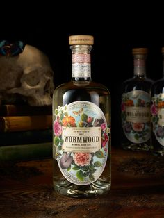 Creative Agency: Chad Michael Studio Project Type: Produced, Commercial Work Packaging Content: Gin Location: USA A secret gin recipe . Alcohol Bottles, Liquor Bottles, Vodka Bottle, Bottle Packaging, Soap Packaging, Kombucha, Gin Recipes, Label Design, Package Design
