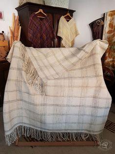 Handwoven wool blanket Wool Blanket, Fiber Art, Hand Weaving, Studio, Home Decor, Love, Homemade Home Decor, String Art, Decoration Home