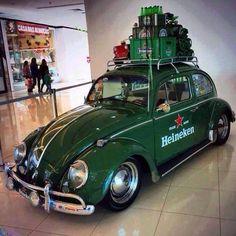 Heineken VW beetle