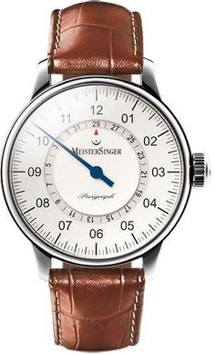 MeisterSinger Watch Perigraph #360-image-yes #bezel-fixed #bracelet-strap-leather #brand-meistersinger #case-material-steel #case-width-43mm #delivery-timescale-1-2-weeks #dial-colour-silver #gender-mens #luxury #movement-automatic #official-stockist-for-meistersinger-watches #packaging-meistersinger-watch-packaging #style-dress #subcat-perigraph #supplier-model-no-am1001-croco-print-cognac #warranty-meistersinger-official-2-year-guarantee #water-resistant-50m