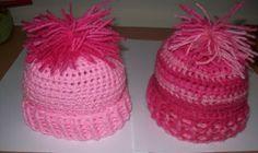 *Free Crochet Pattern - Cats-Rockin-Crochet Fibre Artist.: Quick Crochet Newborn Baby Beanie