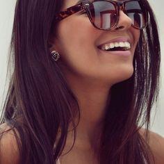 Nose ring && sunglasses