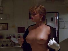 Big breasted women in orgasm