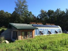 Bathe in rainwater and see shooting stars from your pillow at night in our earthship home. Athens Nightlife, Earthship Home, Eco City, Underground Homes, Earth Homes, Green Building, Sustainable Living, My Dream Home, Night Life