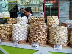 All different types of alfajores, Argentina